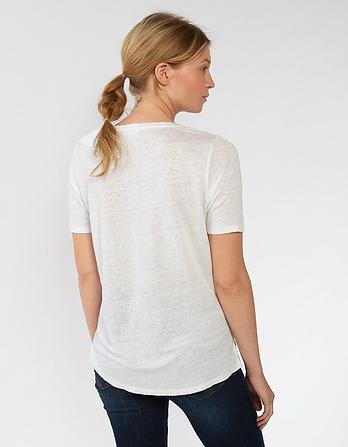 Layla Linen T Shirt