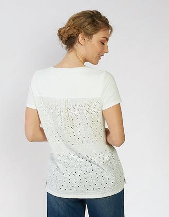 Frida Broderie Back T-Shirt