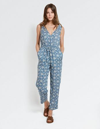 Gemma Woodblock Jumpsuit