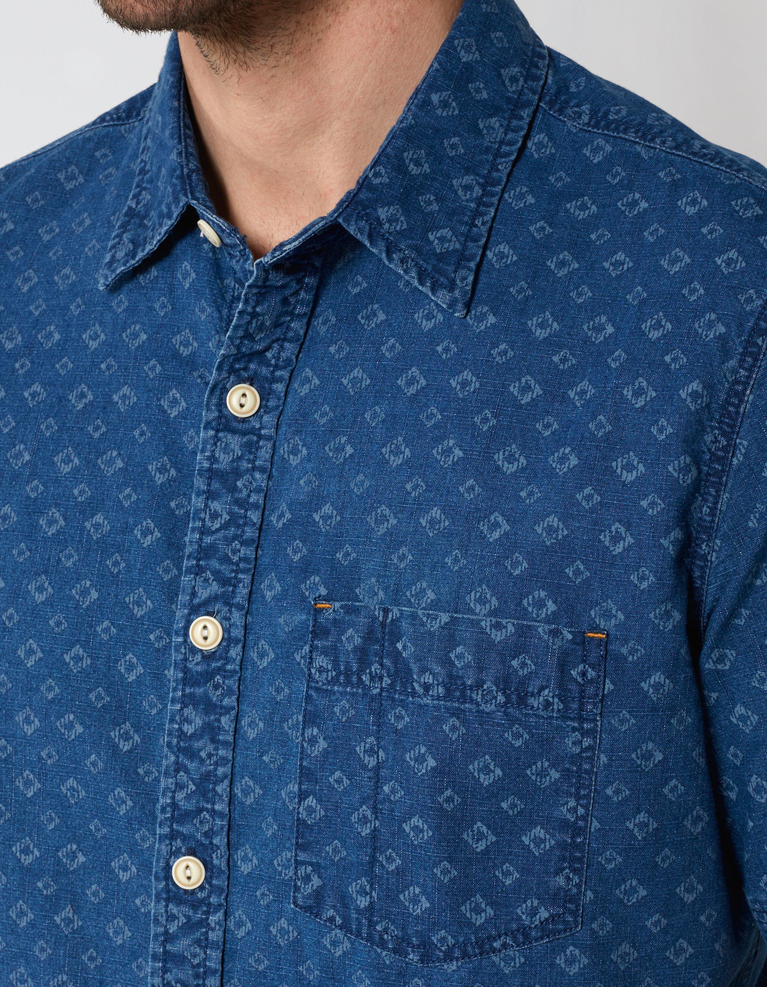 Beaulieu Geo Print Shirt