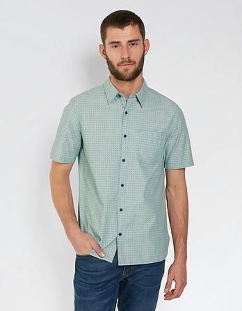 Greywell Print Shirt