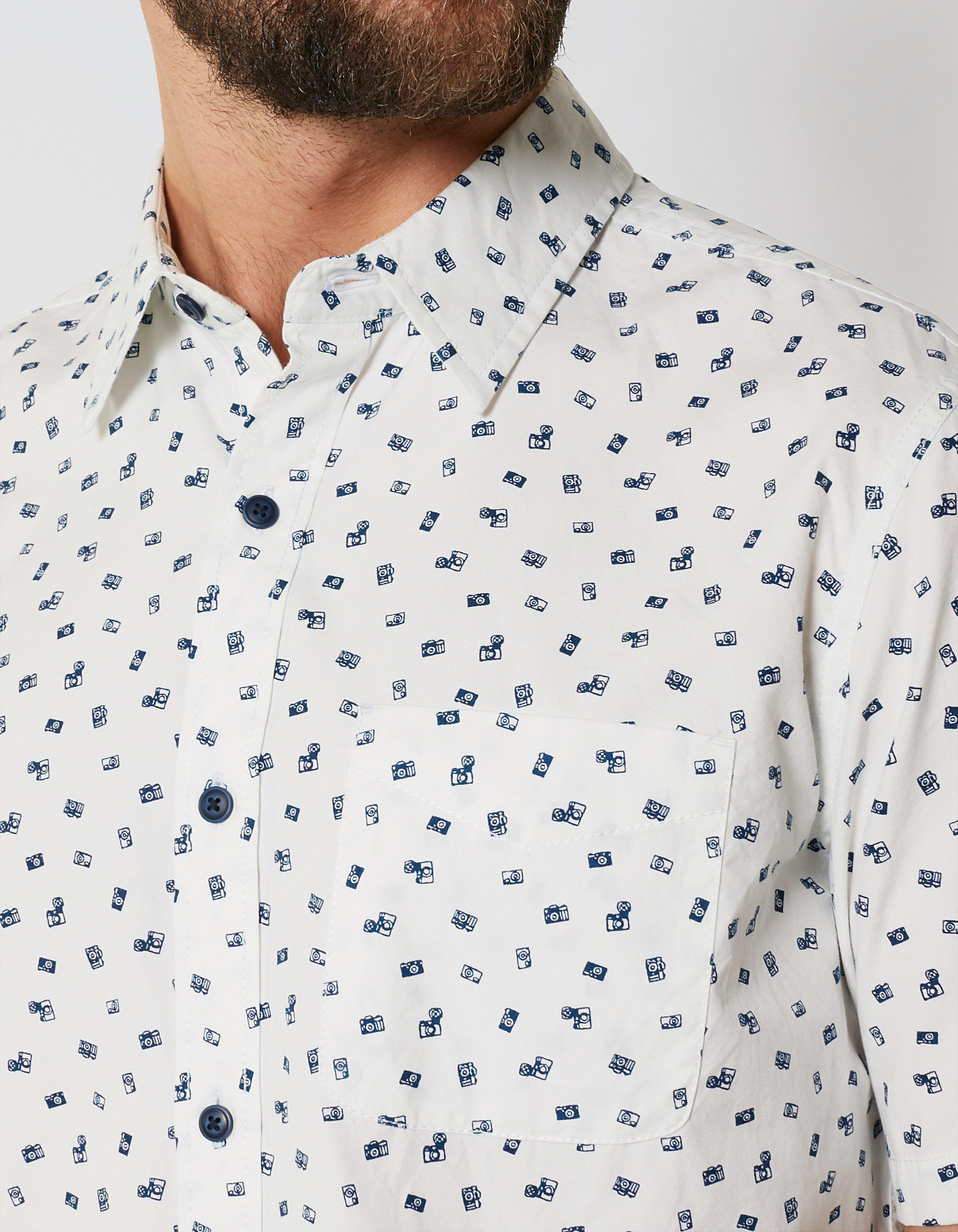 Camera Print Shirt