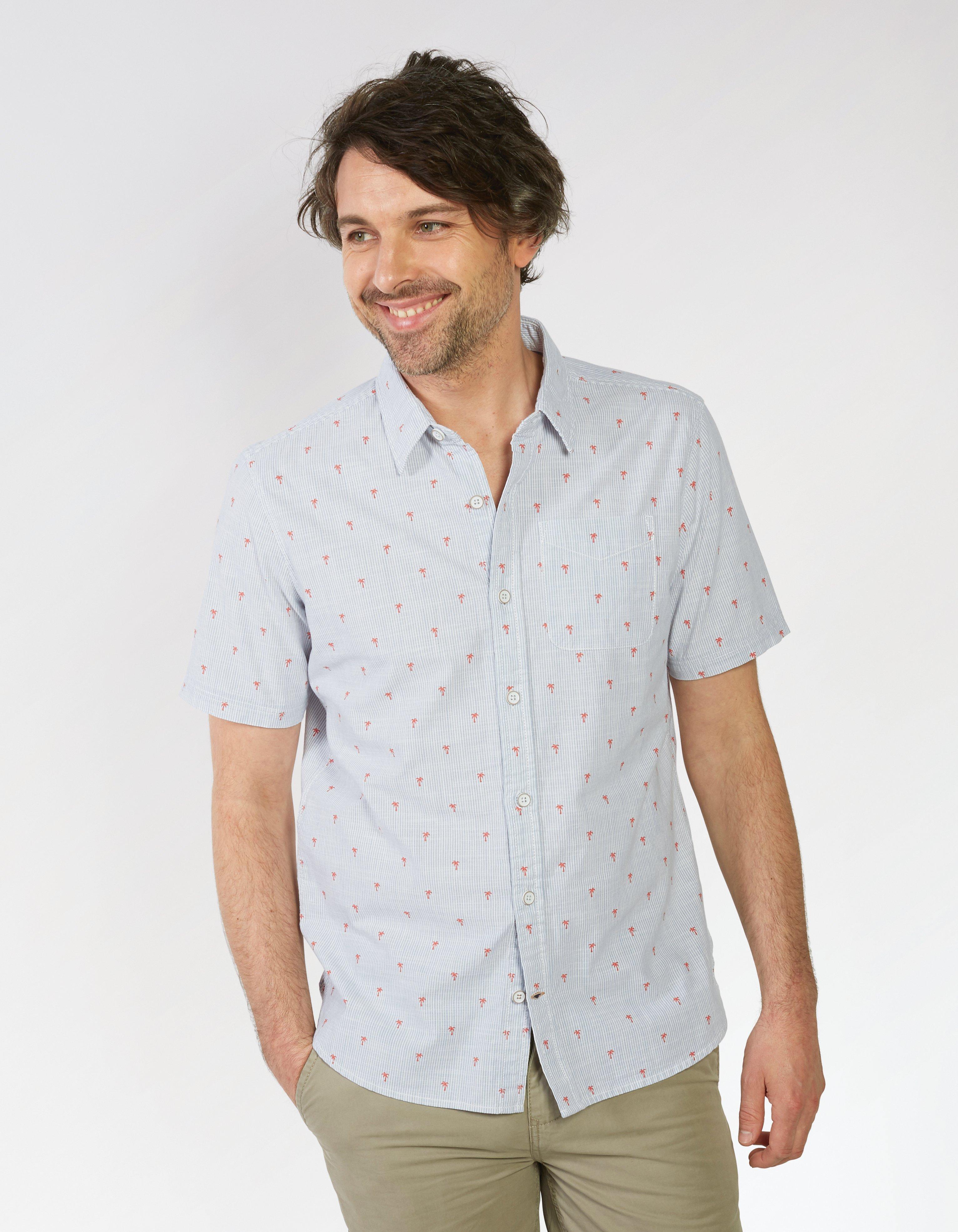 Palm Stripe Shirt