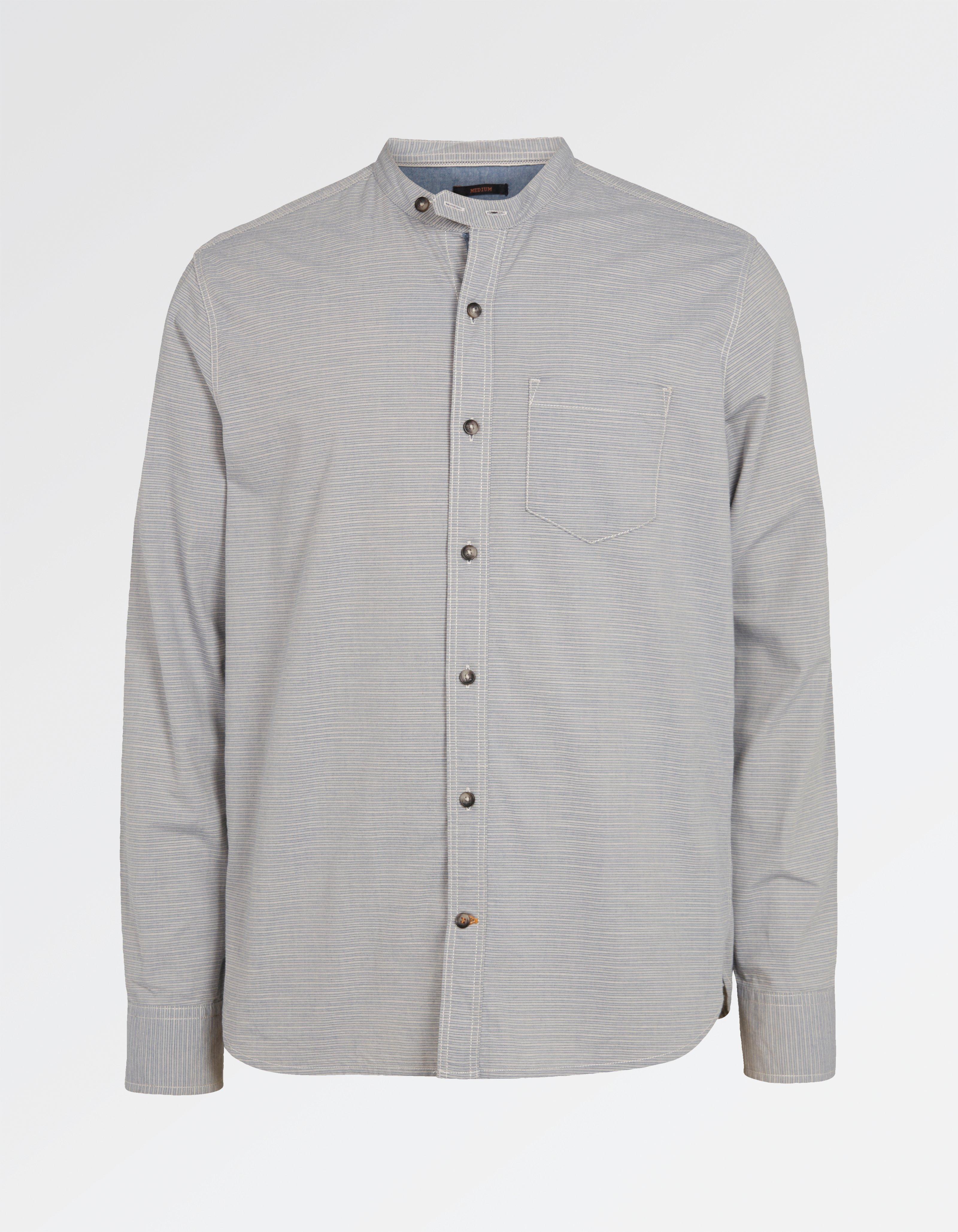 Elstead Stripe Grandad Shirt