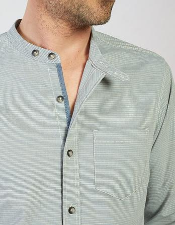 Elstead Stripe Grandad Shirt