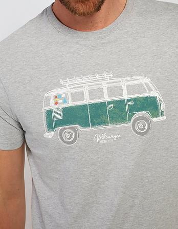 VW Organic Cotton Camper Graphic T-Shirt