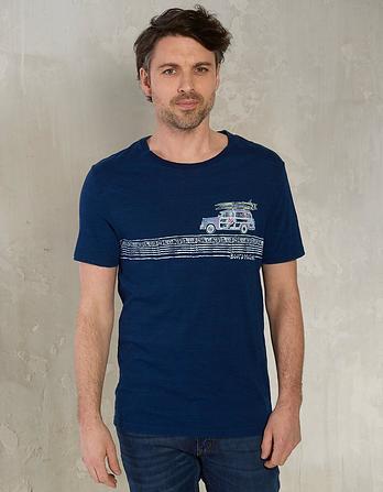 Indigo Board Meeting Graphic T-Shirt