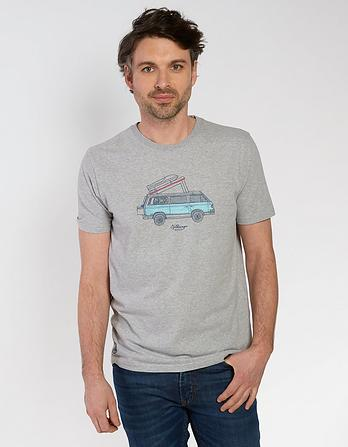 VW Volkswagon Organic Cotton Graphic T-Shirt