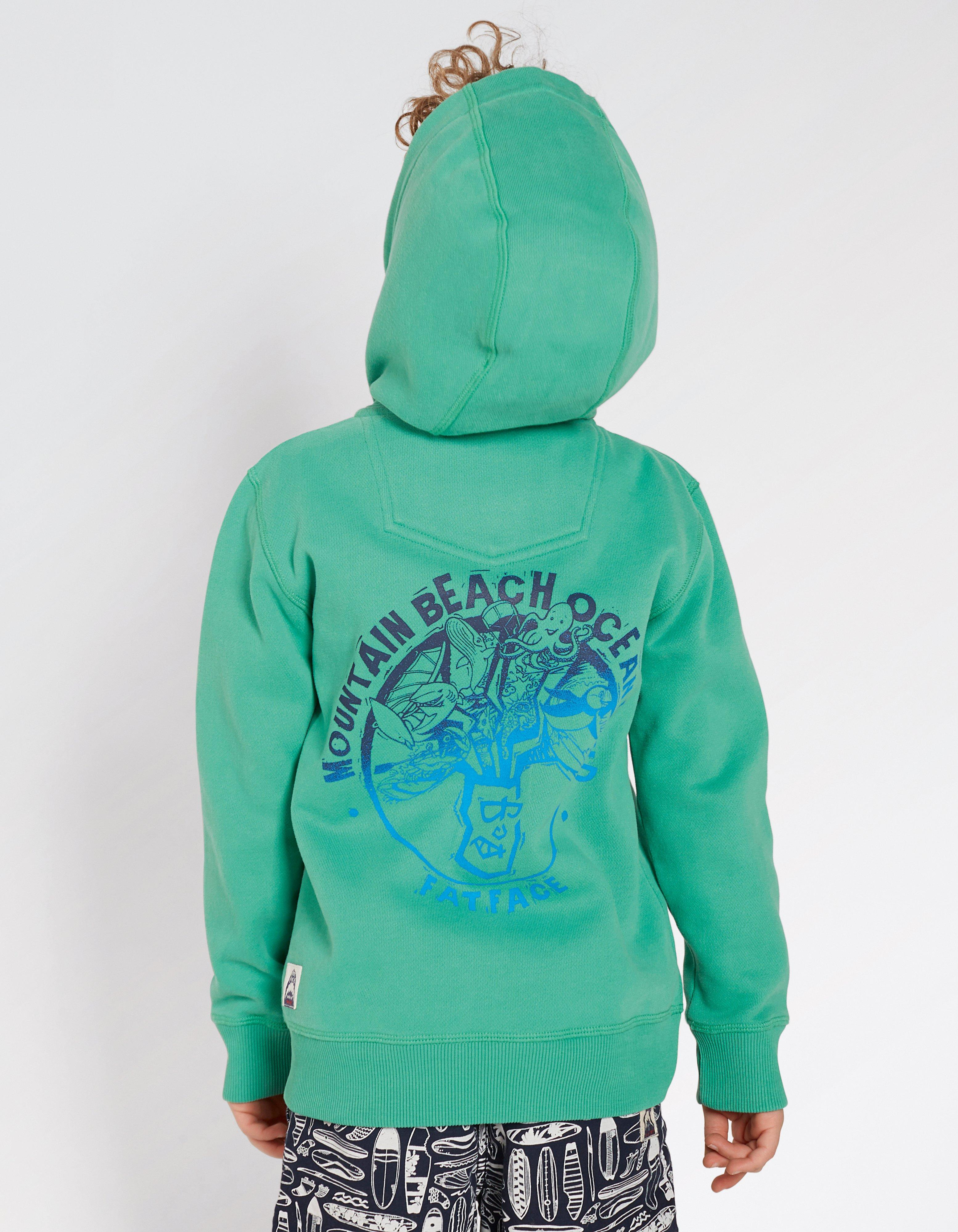 Mountain Beach Zip Thru Hoody