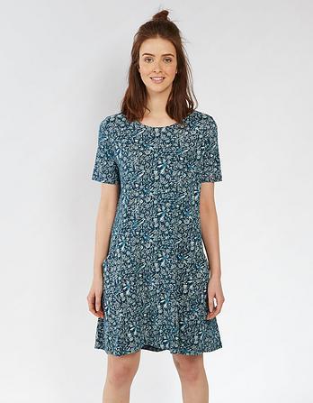 Simone Linear Garden Dress