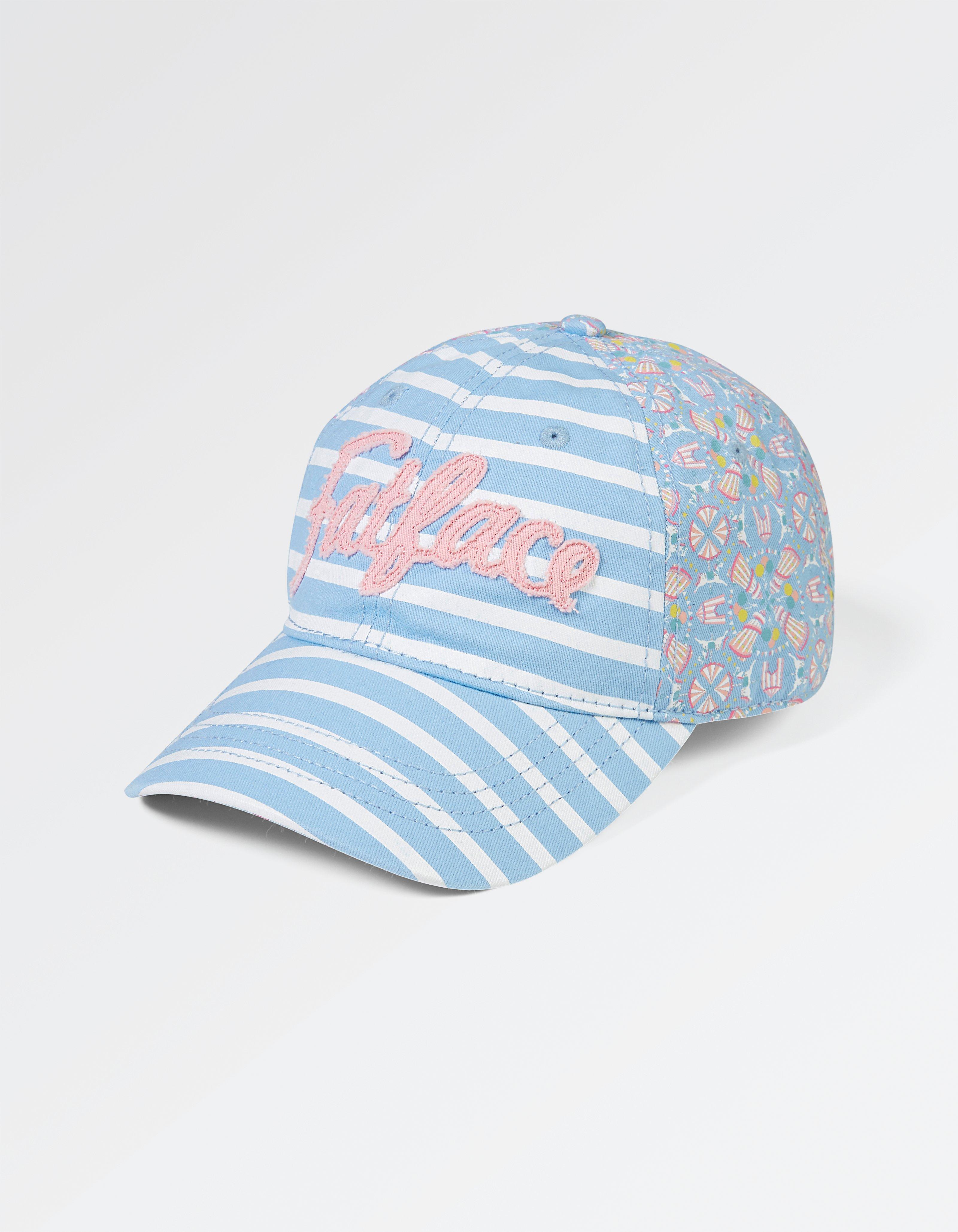 Stripe Fairground Print Cap