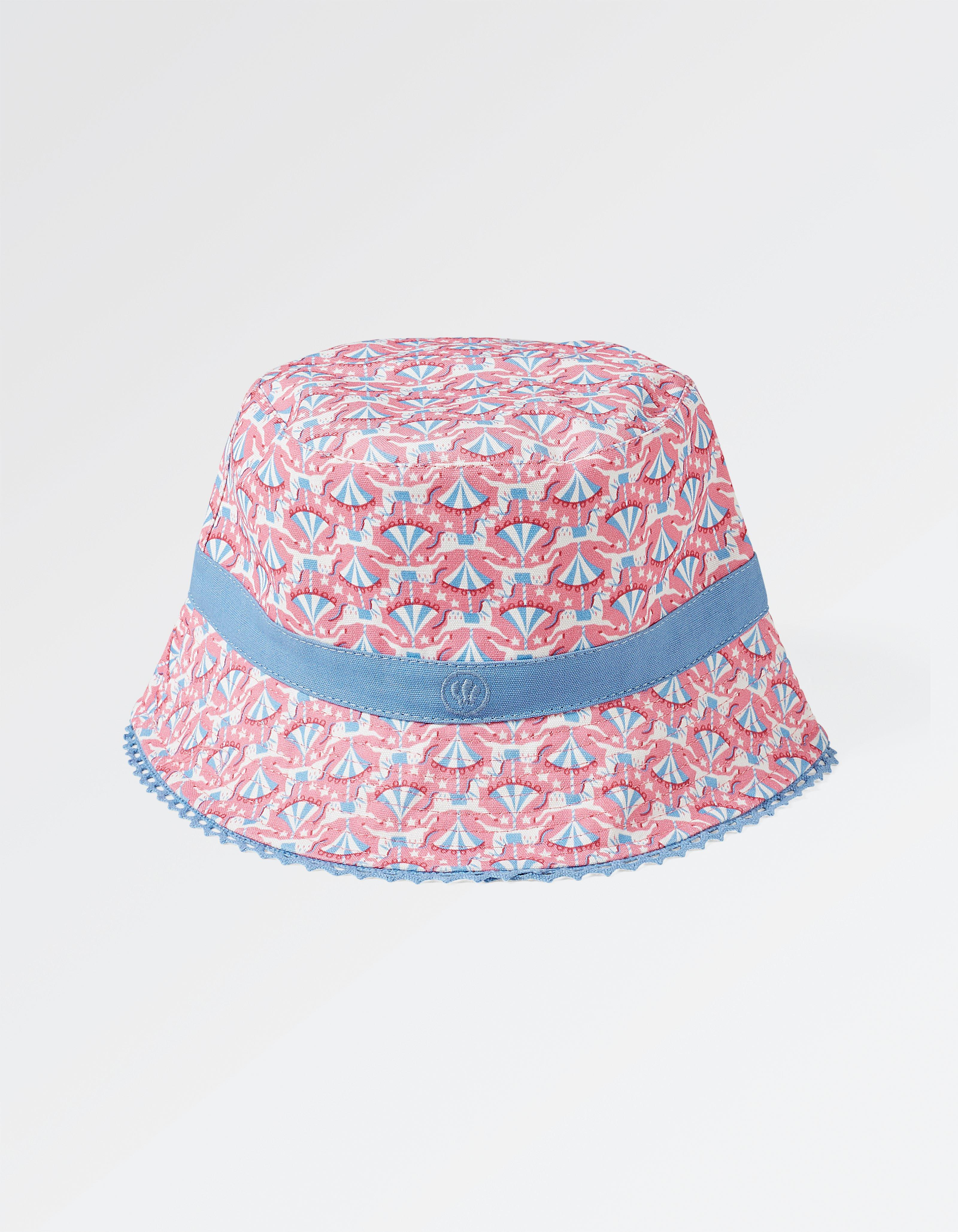Funfair Print Bucket Hat