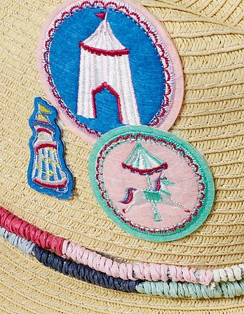 Girls Badge Cowboy Hat