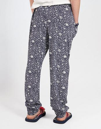 Jersey Ditsy Fish Trousers