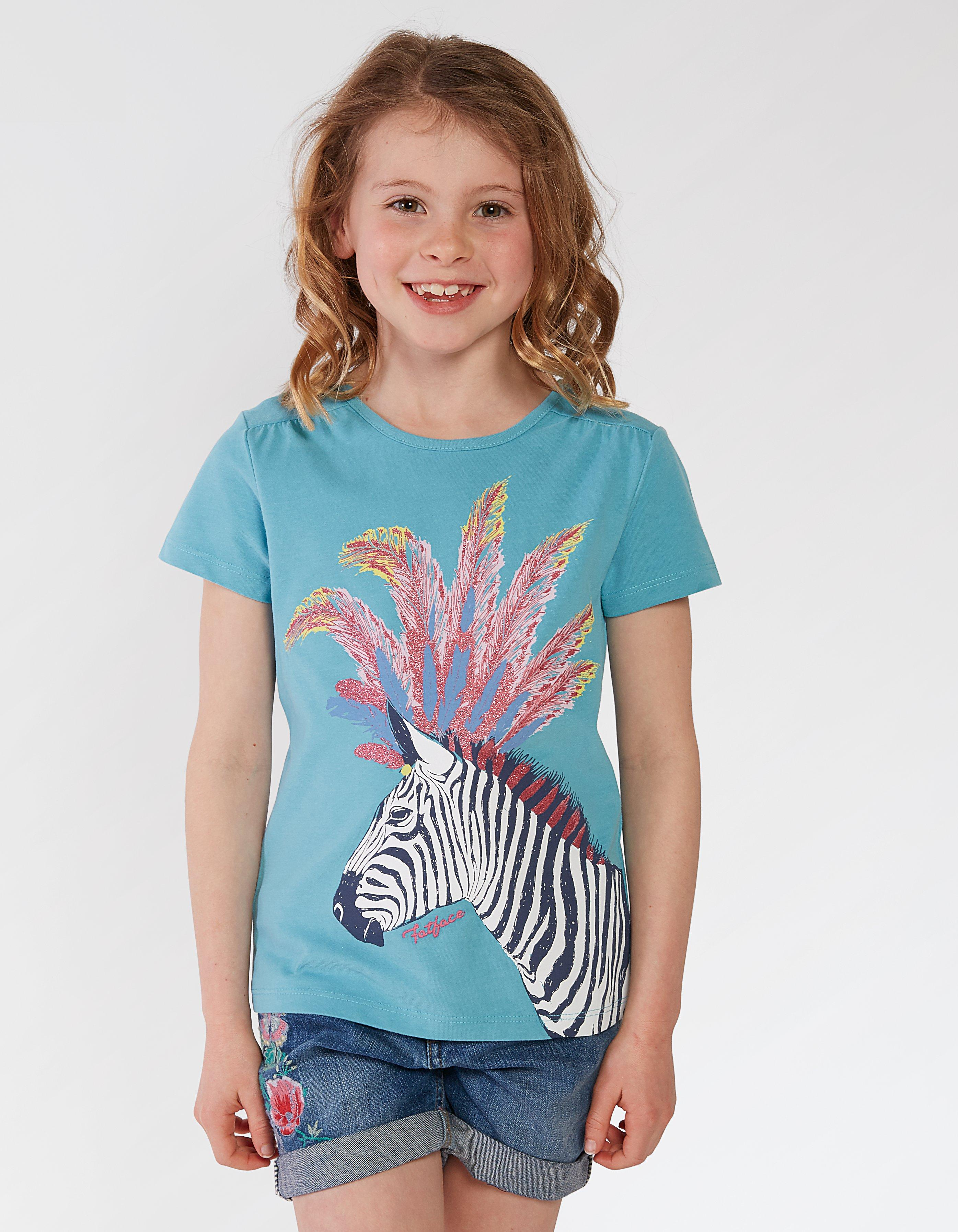 Zebra Graphic T Shirt