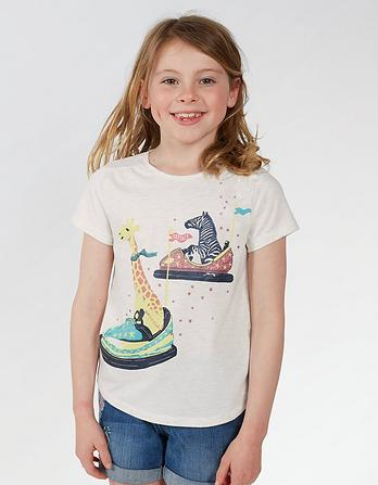 Bumper Car Graphic T-Shirt