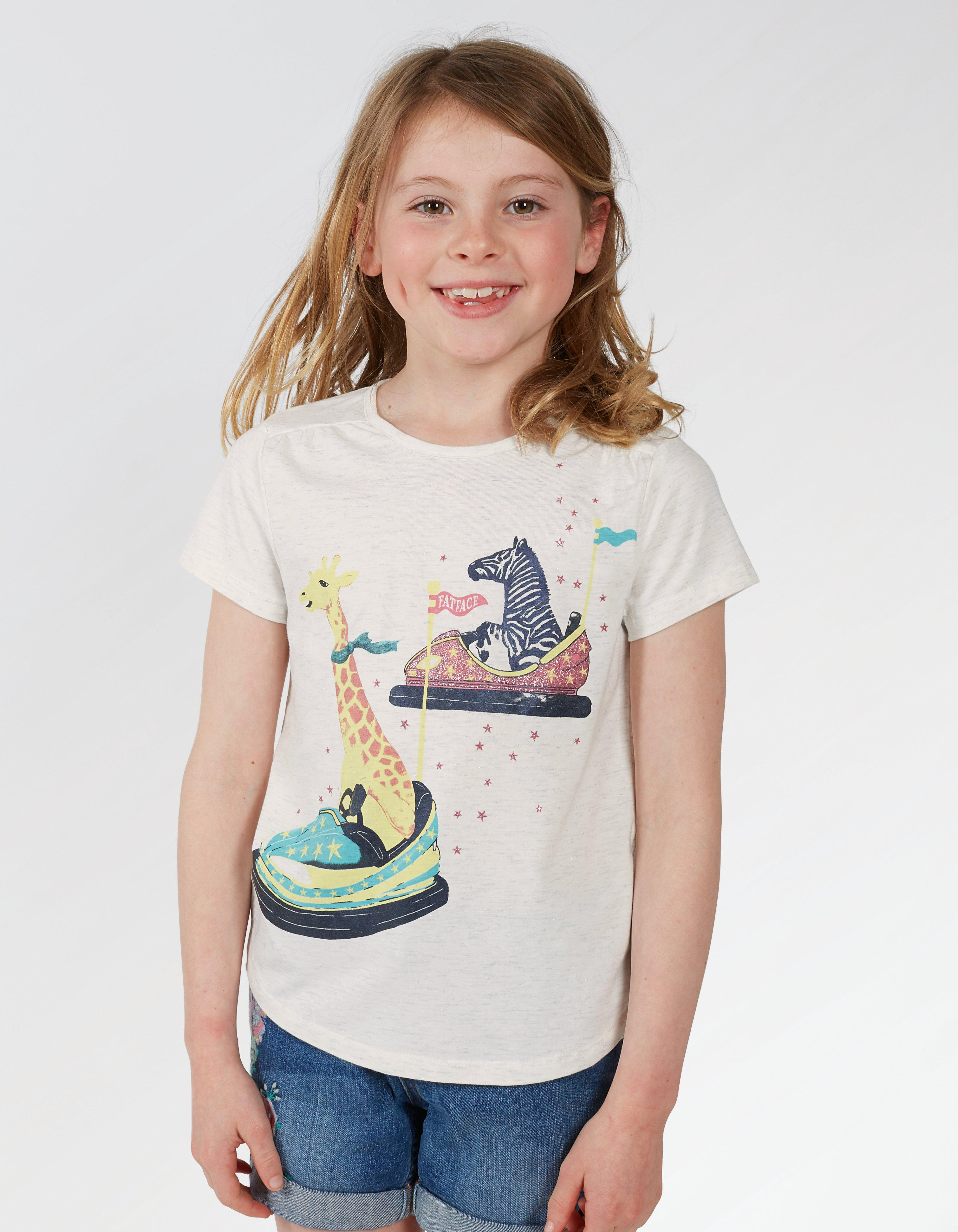 Bumper Car Graphic T Shirt