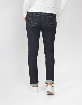 Dark Contour Selvedge Slim Jeans