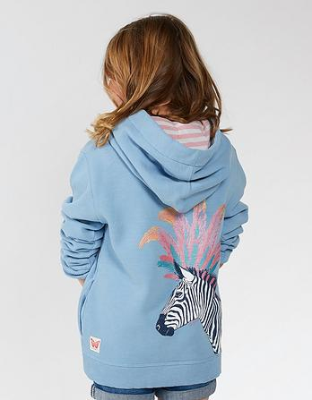 Zebra Graphic Hoody