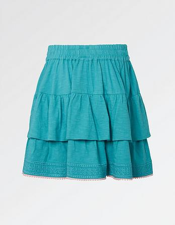 Jersey Ra Ra Skirt