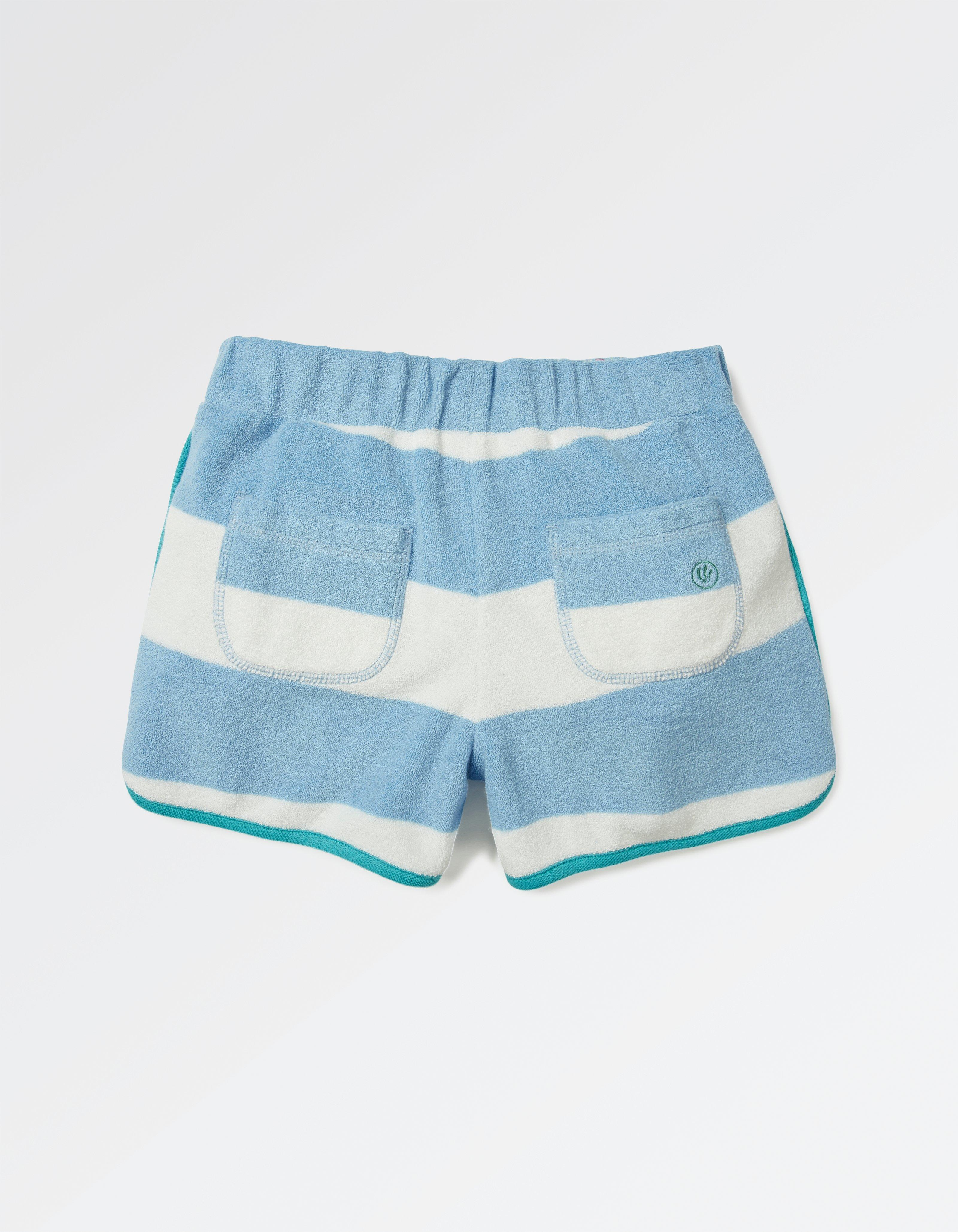 Stripe Towel Shorts