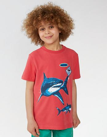 Shark Graphic T Shirt