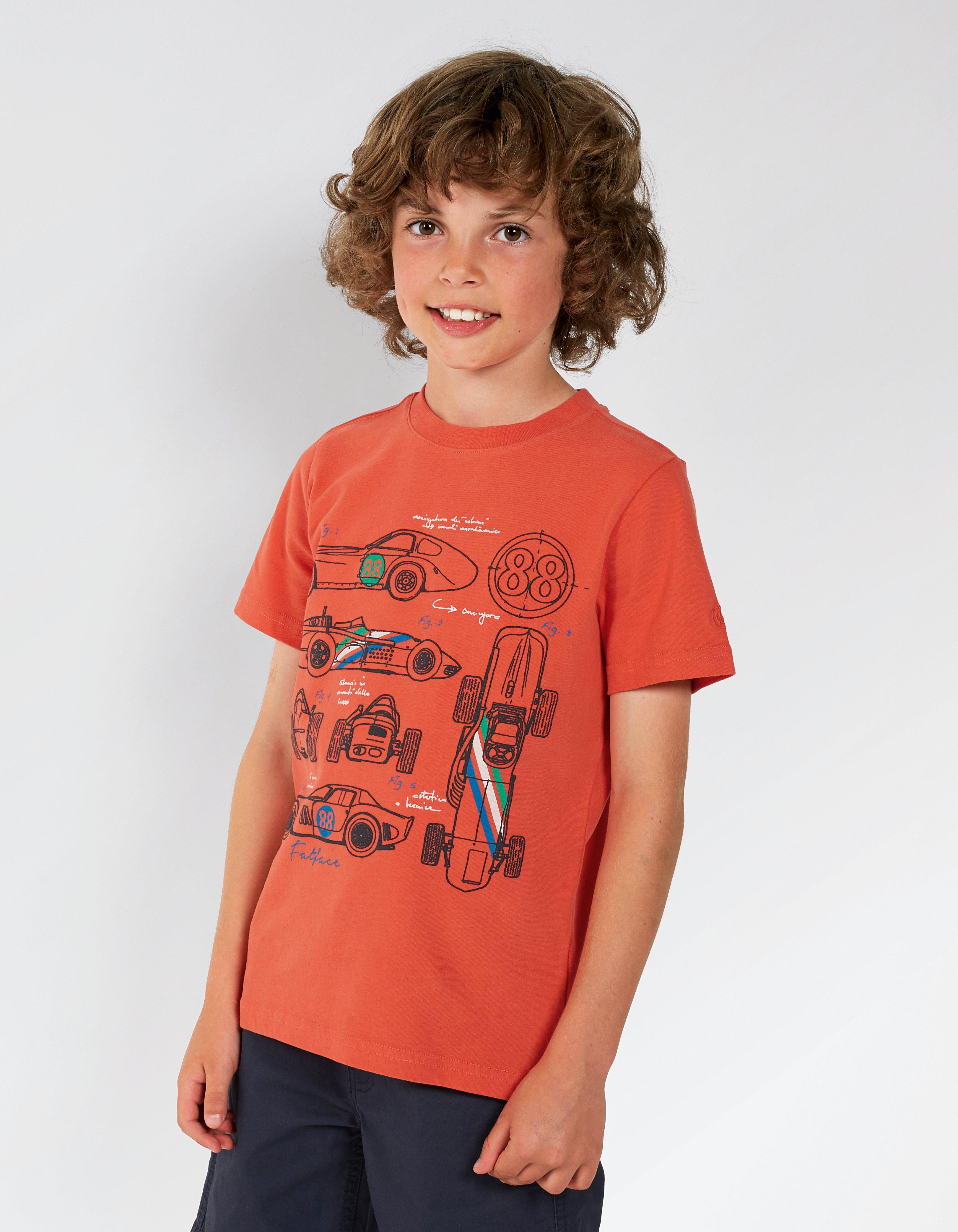 Racing Cars Graphic T-Shirt