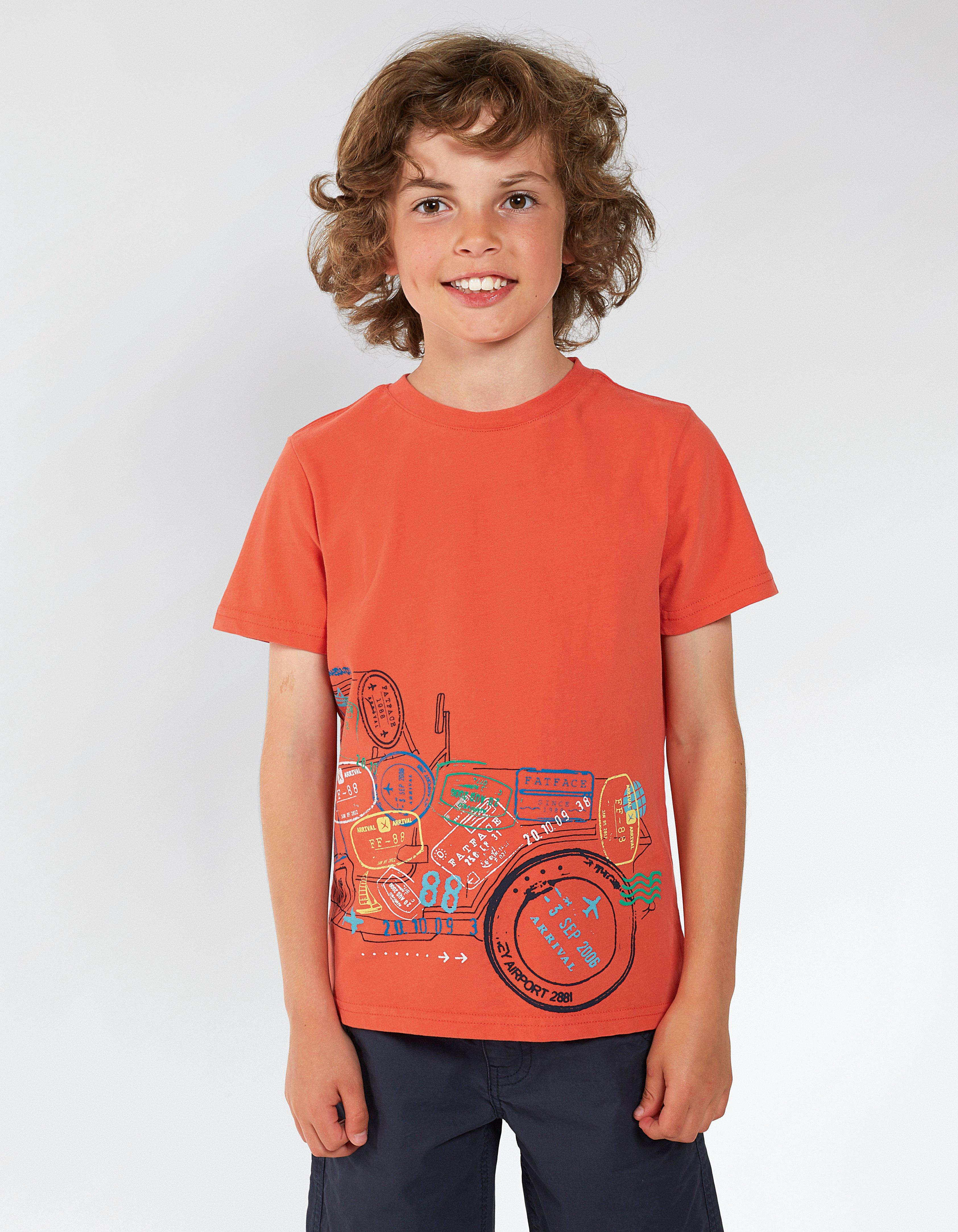 Car Stamp Graphic T Shirt