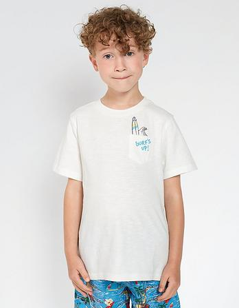 Surf's Up Pocket T-Shirt