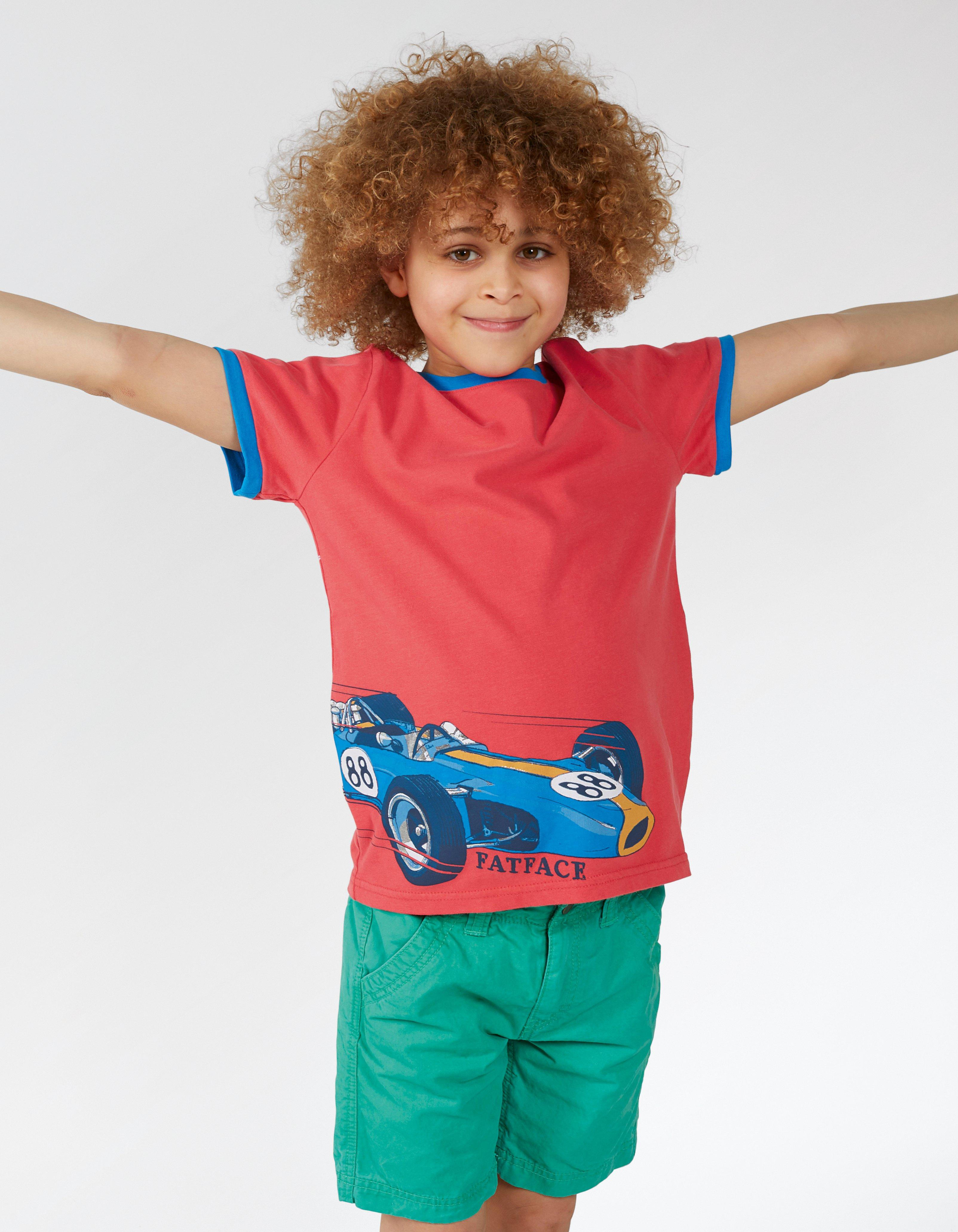 Fast Car Graphic T Shirt