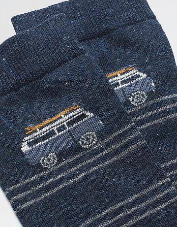 One Pack Camper Stripe Socks