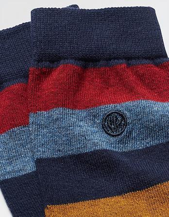 One Pack Joe Stripe Socks