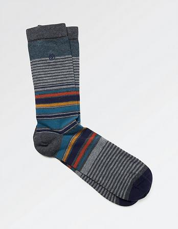 One Pack Craig Stripe Socks