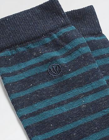 One Pack Brad Stripe Socks