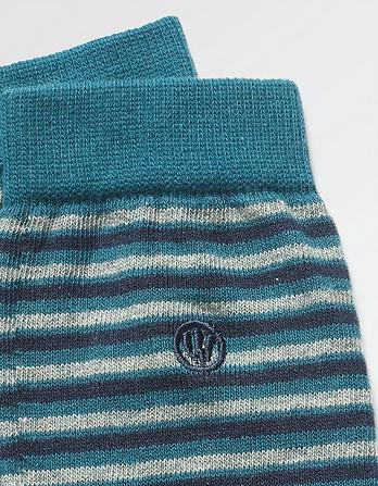 One Pack Clive Stripe Socks