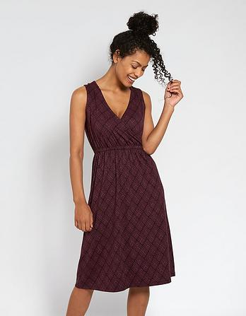 Blair Diamond Stitch Midi Dress