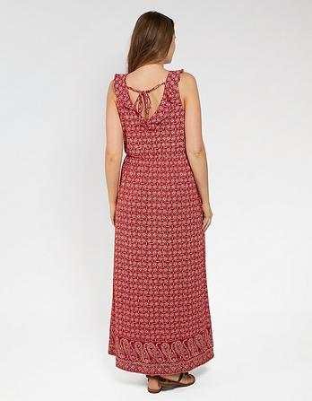 Debbie Daisy Diamond Maxi Dress