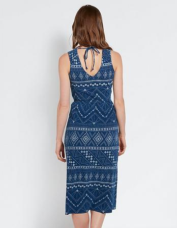 Blair Tribal Batik Dress