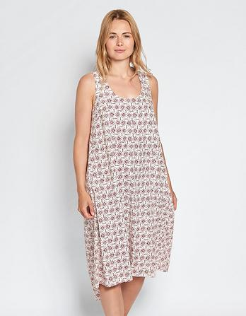 Lola Linen Daisy Diamond Dress