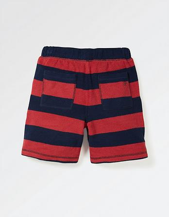 Stripe Towelling Shorts