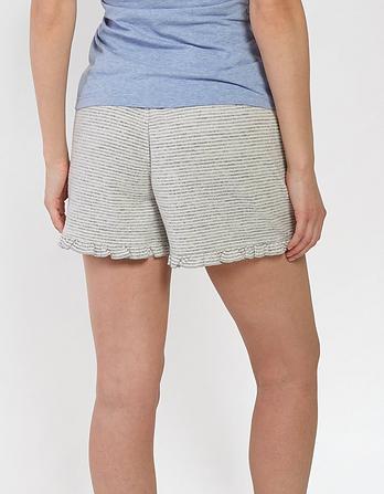 Frill Stripe Shorts
