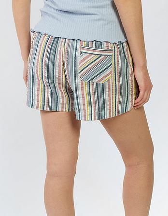 Stripe Pajama Shorts