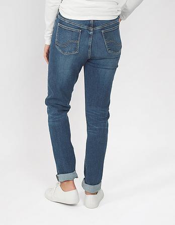 Mid Wash Slim Jeans