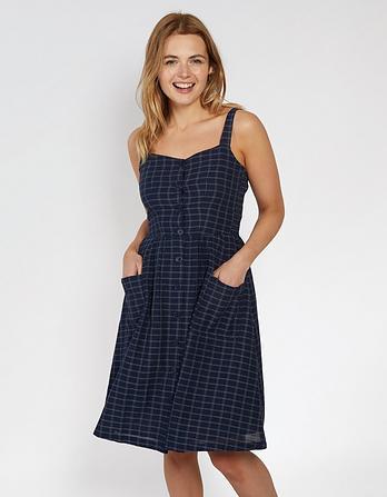 Aubrey Self Check Dress