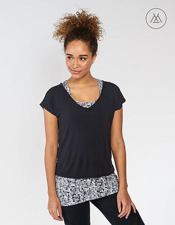 Athleisure Paula 2 In 1 T Shirt