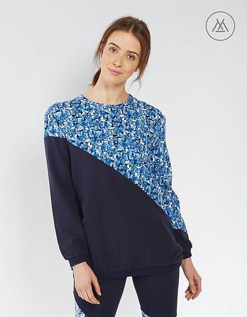 Athleisure Dina Contrast Sweatshirt
