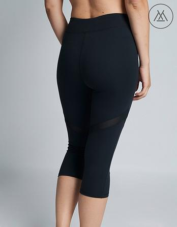 Athleisure Jessie Mesh Crop Leggings