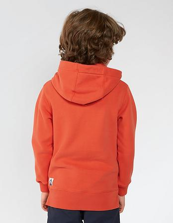 Wave Rider Graphic Popover Hoody