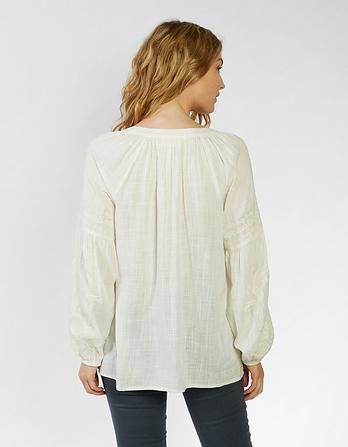 Bethany Embroidered Blouse