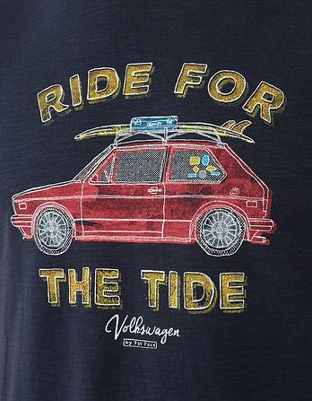 Vw Tide Organic Cotton Graphic T Shirt